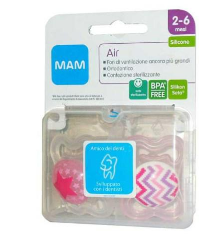 Air Silikonseta Succhietto 2/6 2 Pezzi By Bamed Baby Italia S.r.l.