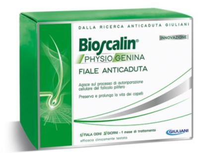 BIOSCALIN PHYSIOGENINA 10 FIALE ANTICADUTA DA 3,5 ML