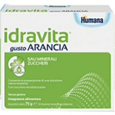 IDRAVITA GUSTO ARANCIA 12 BUSTINE DA 6,25 G