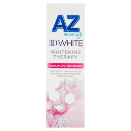 DENTIFRICIO AZ 3D WHITE THERAPY DENTI SENSIBILI 75 ML