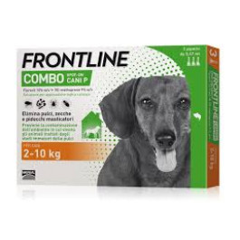 FRONTLINE COMBO SPOT ON CANI Peso 2-10kg 3X0,67 ml