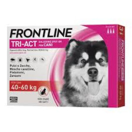FRONTLINE TRI-ACT Spot-On Cani 40-60kg 3x6ml