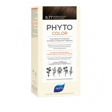 PHYTOCOLOR 6.77 MARR CHIA CAPP 1 LATTE + 1 CREMA + 1 MASCHERA + 1 PAIO DI GUANTI