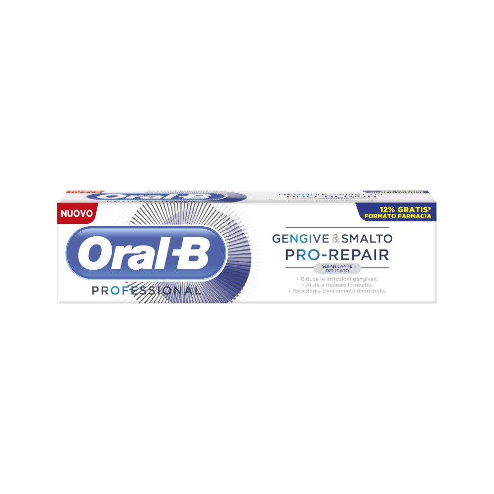 ORAL-B GENGIVE E SMALTO PRO REPAIR WHITE DENTIFRICIO 85 ML