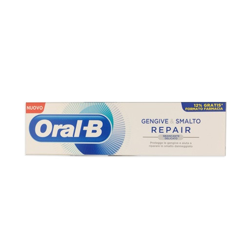 ORAL-B GENGIVE E SMALTO REPAIR WHITENING DENTIFRICIO 85 ML