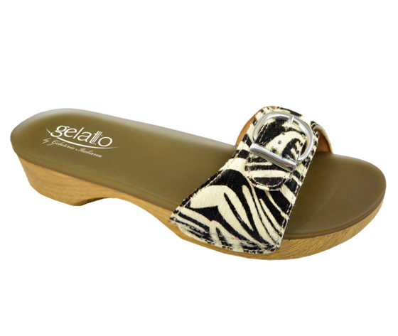 SOLE MIO ANIMAL ZEBRA PLANTARE IN GEL 39/40