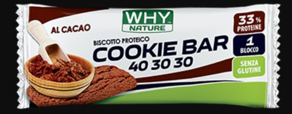 WHYNATURE COOKIE 40 30 30 CACAO 21 G